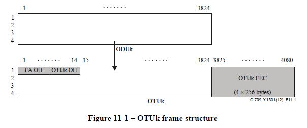 OTNインターフェース規格(ITU-T G.709)   石村国際知的財産事務所